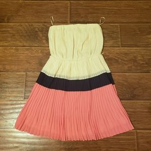 💜 3 for $10💜Adorable Strapless Chiffon Dress